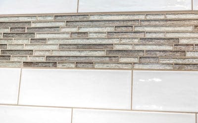 Tile Band Options for the Shower