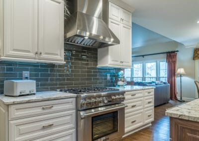 East Cobb kitchen remodel to open to family room