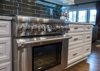 Cook like a pro on this range in our East Cobb remodeling project