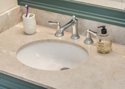 Elegant faucet in East Cobb bathroom remodeling project