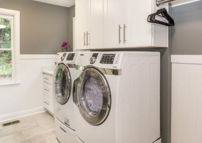 New laundry room is a part of Sandy Springs kitchen remodeling