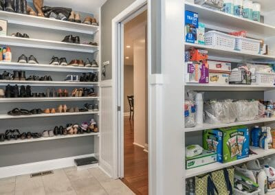 New pantry area in kitchen remodel in Sandy Springs