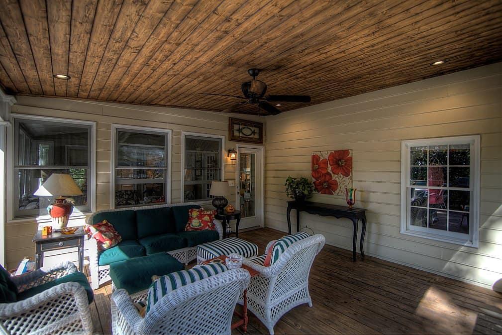 Open Air Covered Porch East Cobb Greathouse Atlanta
